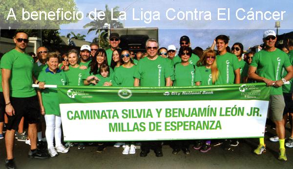 Foto: Caminata Silvia y Benjamín León Jr., 2014.